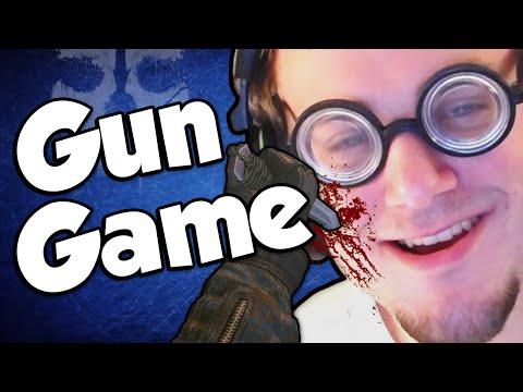M3RKMUS1C FANBOY!? (Gun Game Reactions - Call of Duty: Ghosts)