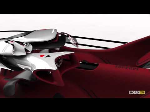Ferrari FL от русского дизайнера Романа Егорова