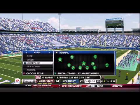 HPL | New OD - S2 | Week 2 | #1 Ohio St @ Kentucky