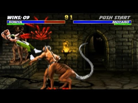 Mortal Kombat arcade kollection PC UMK3 playthrough with Sonya Blade