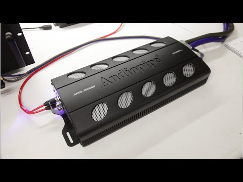 SONIC ELECTRONIX CERTIFIED AMP: AUDIOPIPE APCL-15001D