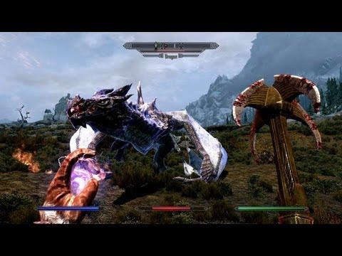 The Elder Scrolls V: Skyrim - Dragon Gameplay (PC, PS3, Xbox 360)