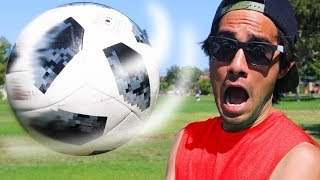 Zach King a Futbal