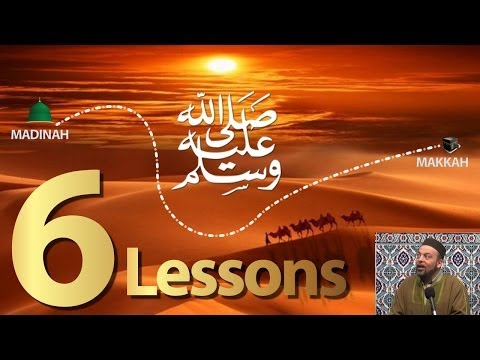 6 AMAZING Lessons from the Hijra || Prophet Muhammad's Migration (Dr. Hamid Slimi)