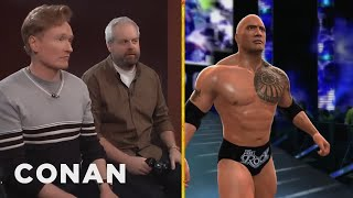 "Clueless Gamer: Conan Reviews ""WWE 2K14"""