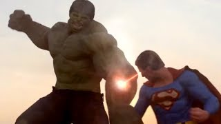 Superman Vs Hulk The Fight (Part 2)