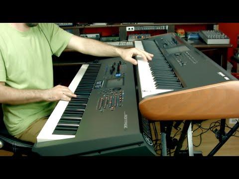 KORG Kronos Vs Yamaha Montage Piano