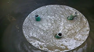 Maceta con cemento
