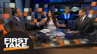 Stephen A: Lakers' offseason a 'failure' if LeBron James or Paul George don't go | First Take | ESPN