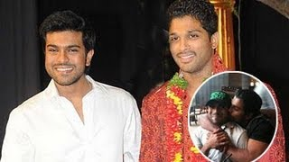 Ram Charan and Allu Arjun Unseen & Rare Photos : Photo Play