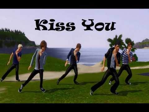 one direction kiss you song - the sims 3 version