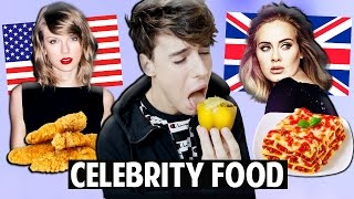 AMERICAN vs. BRITISH Celebrity Food Favourites