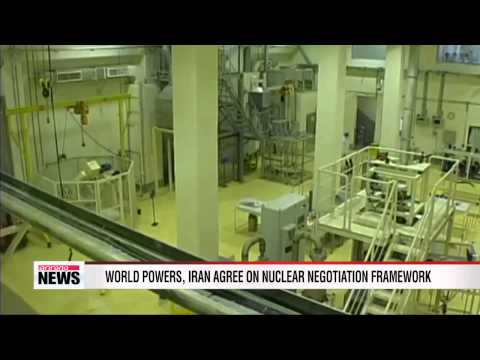 World powers and Iran agree on nuclear framework in Vienna
