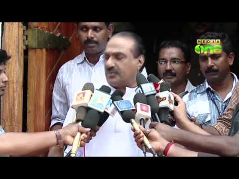 KM Mani discusses Kasturirangan with Veerappa Moily