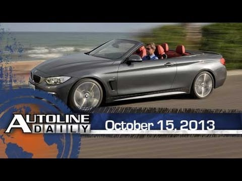 BMW Shows Off New Drop-Top 4 Series - Autoline Daily 1236