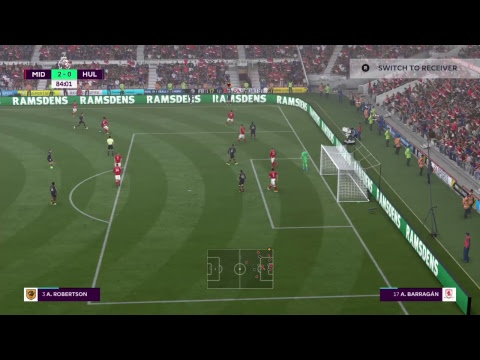 Middlesbrough Vs Hull City FIFA 17 Career Mode