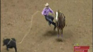 Tie Down Roping - 2013 NFR Round 10