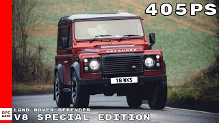 405PS Classic Land Rover Defender V8 Special 70th Edition