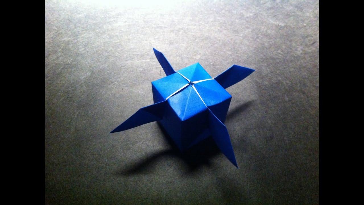 origami artificial satellite youtube
