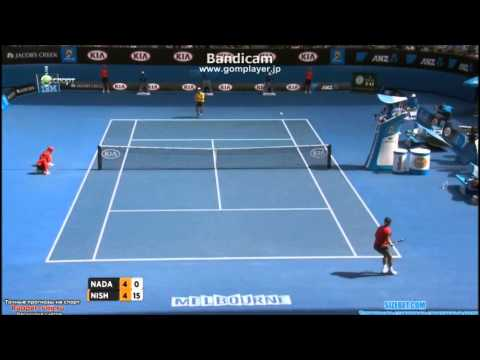 Rafael Nadal vs Kei Nishikori - Australian Open 2014 Highlights R4 part1 【HD】