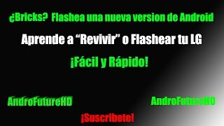 "Tutorial Para ""Flashear"" O ""Revivir"" Un LG"
