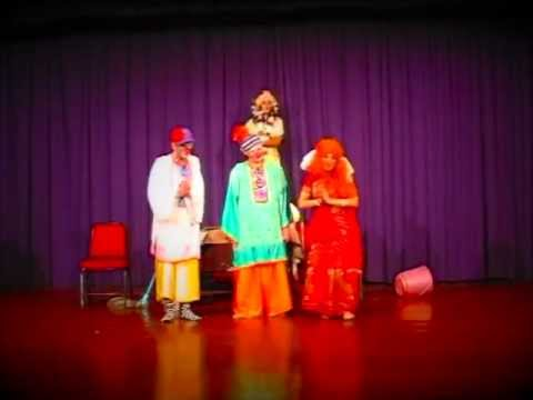"""Family life"" funny clown show by ""Hanuman Theater"""