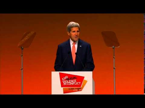 Secretary Kerry Delivers Remarks at the Global Summit to End Sexual Violence in Conflict