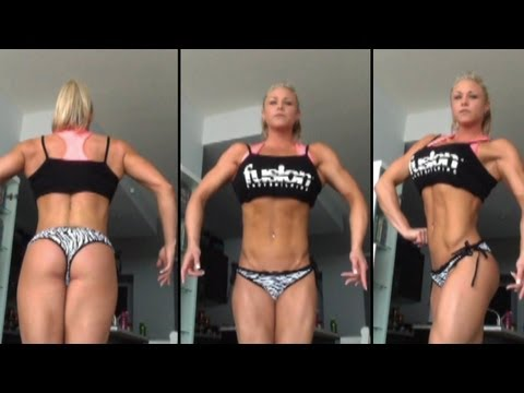 SARA FENNELL VLOG SERIES EPISODE #9 • 8 WEEKS OUT FROM THE 2013 CBBF NATIONALS