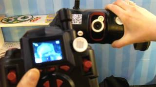 TRAKR RC car lets kids use camera and apps to be a spy view on youtube.com tube online.