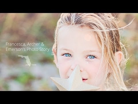 Darling Children's Lifestyle Portraits - Album Design by Photo Stories