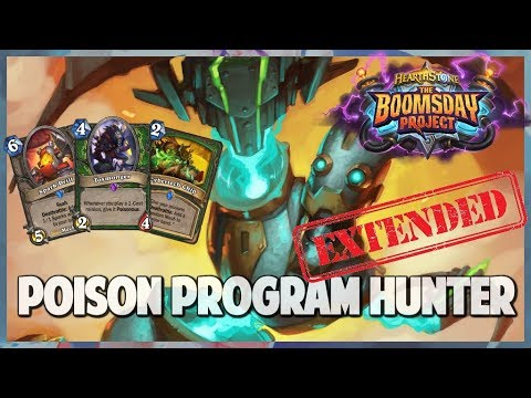 Poison Program Hunter | Extended Gameplay | Hearthstone | Boomsday Project