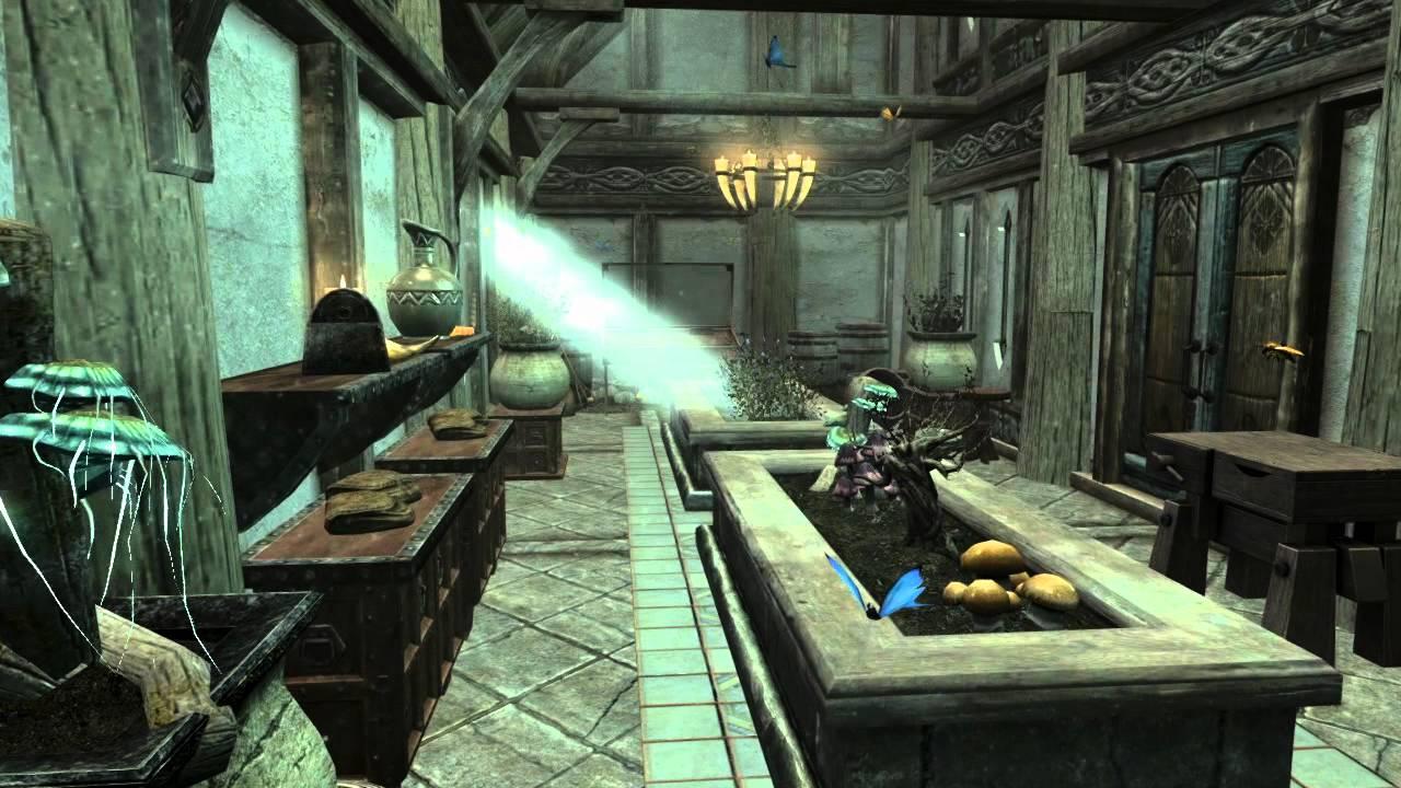 how to build a house in skyrim elder scrolls v