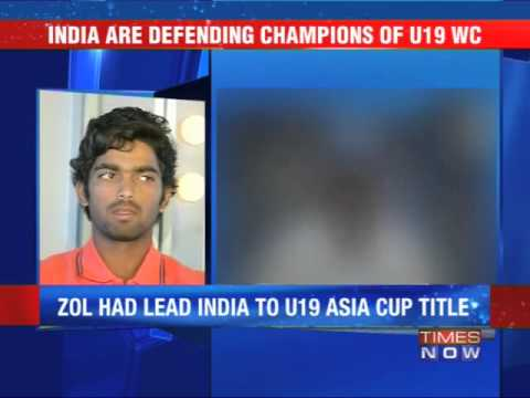 Vijay Zol to lead India's U-19 World Cup title defence