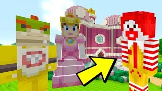 ESCAPING MCDONALDS! [WARNING SCARY!] - Nintendo Fun House - (Minecraft Switch) [197]