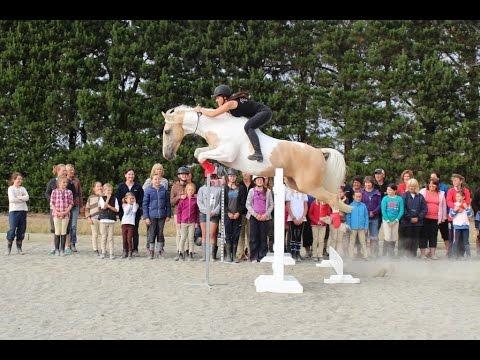 Goldrush & Alycia visit Oxford Pony Club Camp