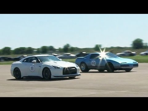 TransAm beating a GTR - King of the Street