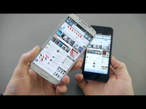 Who is the best Samsung Galaxy S4 vs Apple iPhone 5