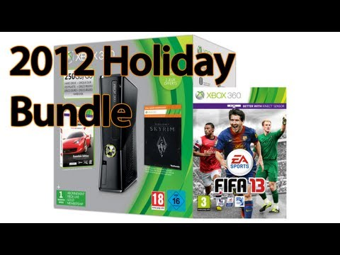 Xbox 360 Holiday Bundle 2012 Unboxing, Stylosa unboxes the Xbox 360 250GB Fifa 13 2012 Holiday Bundle. Time to work out how to use the bloody thing :p
