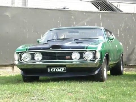 monaro GTS HQ 350 COUPE  RiVALS 1972 the falcon GT XA 351 COUPE