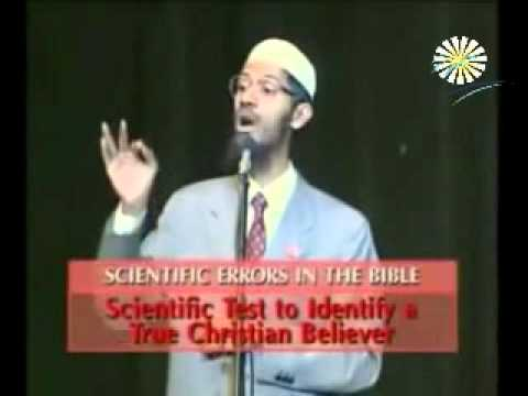 The Quran and the Bible in the Light of Science Dr  Zakir Naik vs  Dr William Campbell  a debate   d