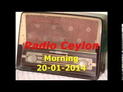 Radio Ceylon 20-01-2014~Monday Morning~02 Purani Filmon Ka Sangeet