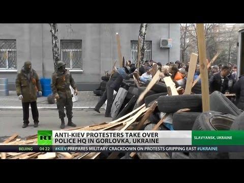 Control of eastern Ukraine evades Kiev authorities after deadline passes