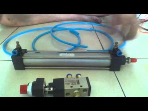 Pneumatic Piston Assembly - Lắp Ráp Hệ Thống Khí Nén