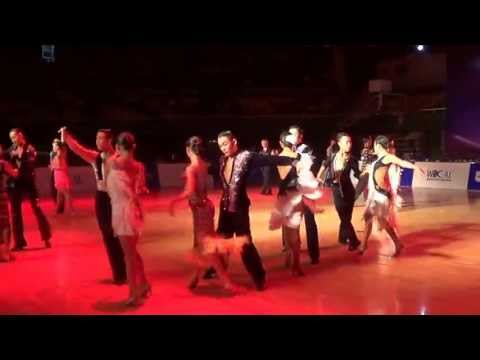 the 1st WDO Asian Cup Beijing Open Dance Championships 30.4.13