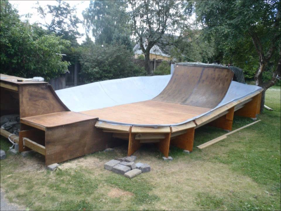 My Backyard Skate Bowl  YouTube