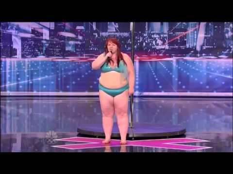Lulu cô nàng béo ở America's Got Talent gây chấn động