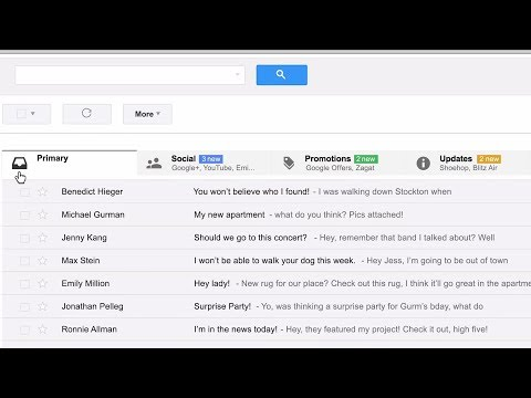 Meet Gmail's New Inbox (Google)