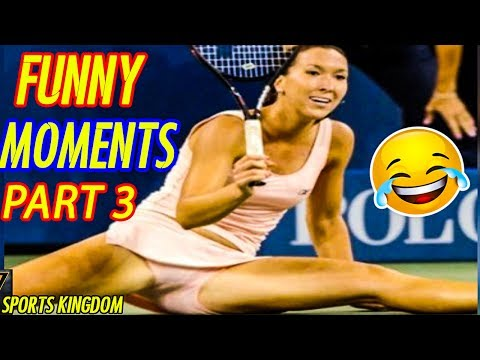 TOP Epic Funny & Fails Moments In Tennis History [Part 3]   HD