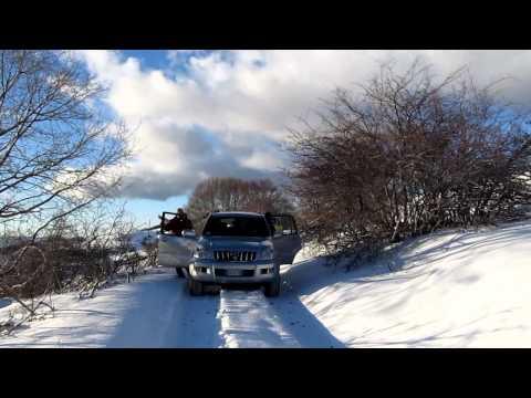 Simbruini in 4x4 con la neve