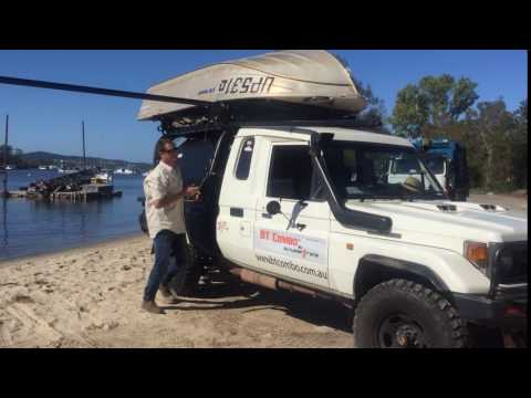 BT Combo - All in 1 Boat loader & Rooftop tent!
